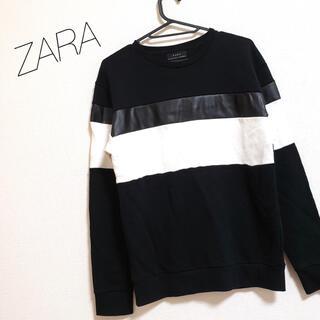 ザラ(ZARA)のZARA 切替 スウェット トレーナー(スウェット)