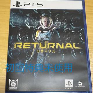 PlayStation - 【初回生産特典未使用】Returnal(リターナル) PS5