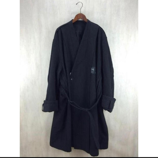 マルタンマルジェラ(Maison Martin Margiela)のessay 16aw Oversized collar less coat(チェスターコート)