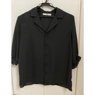 グレイル(GRL)のGRL グレイル キャンディースリーブシャツトップス(シャツ/ブラウス(半袖/袖なし))