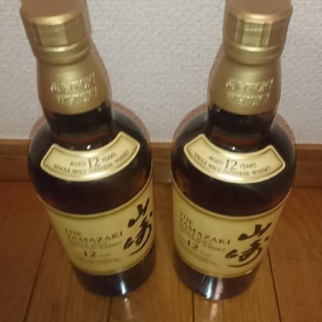 サントリー(サントリー)の山崎12年2本箱無し 食品/飲料/酒の酒(ウイスキー)の商品写真