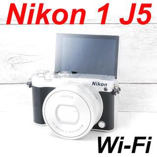 ニコン(Nikon)の❤️Wi-Fi機能搭載❤️自撮り❤️Nikon 1 J5(ミラーレス一眼)