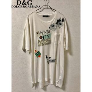 ドルチェアンドガッバーナ(DOLCE&GABBANA)のDOLCE&GABBANA D&G レイヤードポケットtee 52(Tシャツ/カットソー(半袖/袖なし))