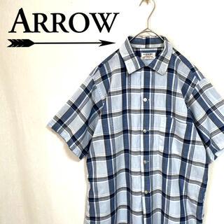 アロー(ARROW)の70's ARROW ヴィンテージ 開襟シャツ アメリカ製(シャツ)