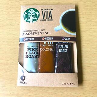 スターバックスコーヒー(Starbucks Coffee)のスターバックス ヴィア® コーヒーエッセンス アソートセット(コーヒー)