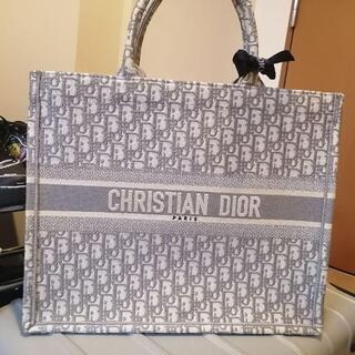 Dior - Dior ブックトート グレー ラージサイズ ディオール