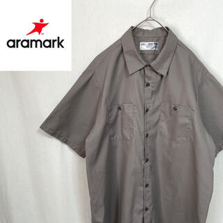 aramark 半袖 ワークシャツ(シャツ)