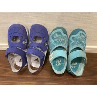 New Balance - 夏靴 子供18cm 2足