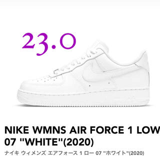 "NIKE - NIKE WMNS AIR FORCE 1 LOW 07 ""WHITE"""