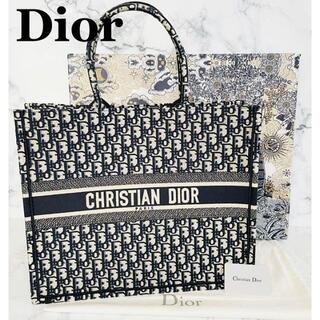 Dior - クリスチャンディオール ブックトート ラージDIOR