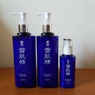 雪肌精 - 【ほぼ満量です!】コーセー 雪肌精 化粧水と乳液  (箱無し)