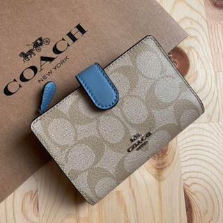 COACH - 新品COACH コーチ 二つ折り財布