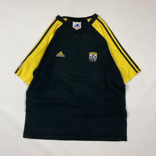 アディダス(adidas)のadidas アディダス 90s ビンテージ MLS コロンバスクルー USA製(Tシャツ/カットソー(半袖/袖なし))