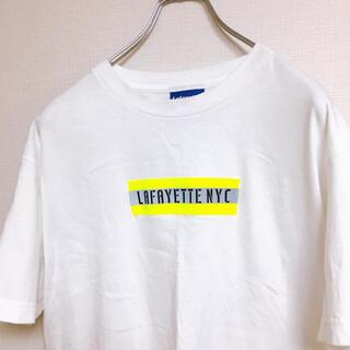 ロンハーマン(Ron Herman)のラファイエット Tシャツ フロントロゴ リフレクタ ボックスロゴ M(Tシャツ/カットソー(半袖/袖なし))