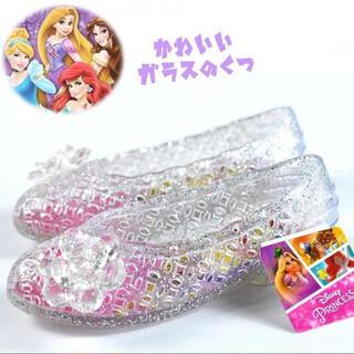ディズニー(Disney)のガラスの靴 キッズ 18cm ディズニー(サンダル)