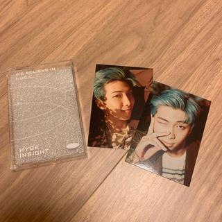 ボウダンショウネンダン(防弾少年団(BTS))のHYBE INSIGHT 公式商品 Photocard BTS ナムジュントレカ(アイドルグッズ)