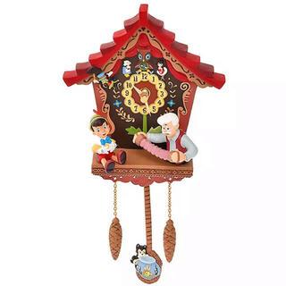 Disney - ピノキオ 時計 ディズニー 掛け時計 ゼペット フィガロ クレオ ジミニー