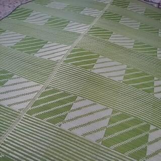い草ラグ 本間 3畳用 上敷き 花ござ い草カーペット 長方形 涼しい(ラグ)