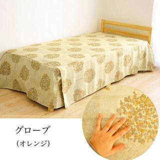 ベッドカバー シングル 【日本製】ベッドスプレッド ボックスタイプ