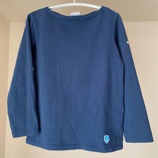 オーシバル(ORCIVAL)のorcival バスクシャツ ネイビー 0(カットソー(長袖/七分))