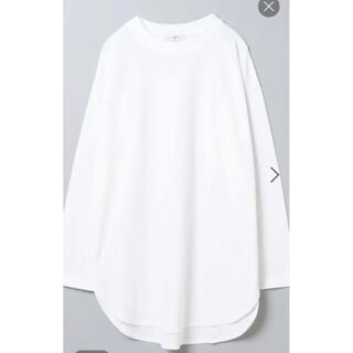 ジーナシス(JEANASIS)のラウンドヘムベーシックロンT ジーナシス(Tシャツ(長袖/七分))