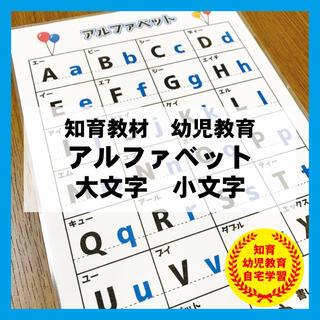 アルファベット 大文字 小文字 英語 ABC 知育教材 幼児教育(知育玩具)