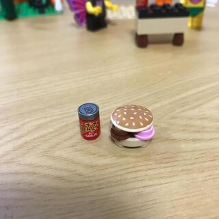 レゴ(Lego)の新品✨LEGO レゴ 正規品 ハンバーガー コーラセット♡(知育玩具)