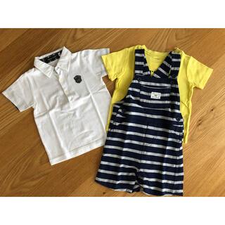 ベベ(BeBe)のBeBe キッズ 半袖Tシャツ 90cm 他含め3点まとめ売り(Tシャツ/カットソー)