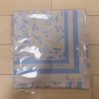 新品未開封herlipto♡ノベルティ スカーフ(バンダナ/スカーフ)