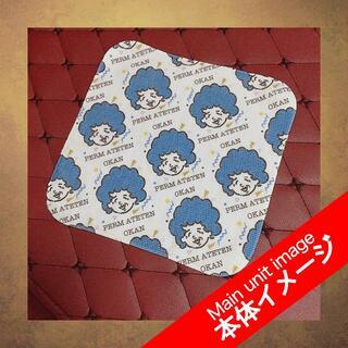 【ブルーなオカンのハンカチ】(タオル/バス用品)