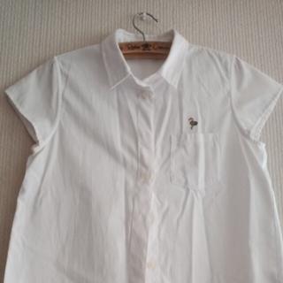 ロデオクラウンズ(RODEO CROWNS)のロデオクラウンズ 白 シャツ(シャツ/ブラウス(半袖/袖なし))