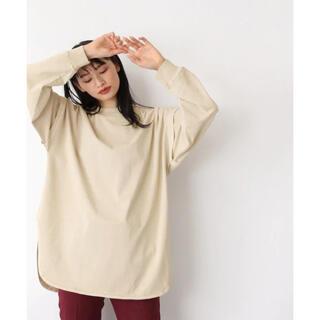 ジーナシス(JEANASIS)のアームレイヤーBIGロンT(Tシャツ(長袖/七分))