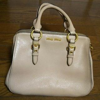 miumiu - miu miu マドラス ハンドバッグ