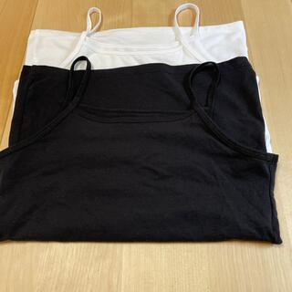 ユニクロ(UNIQLO)のユニクロエアリズム  130 未使用 胸二重タイプ2枚セット(下着)