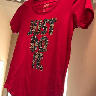 ナイキ(NIKE)のNIKE Tシャツ ピンクS(Tシャツ/カットソー(七分/長袖))