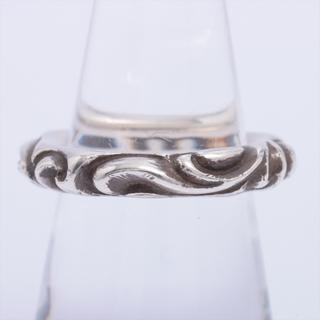 クロムハーツ(Chrome Hearts)のクロムハーツ スクロールバンド 925   ユニセックス リング・指輪(リング(指輪))