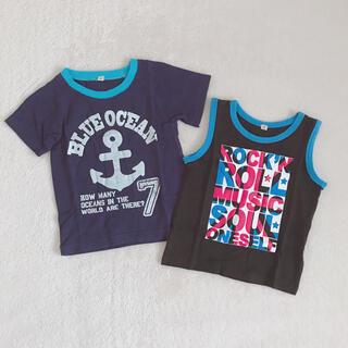 タンクトップ Tシャツ   2枚セット(Tシャツ/カットソー)