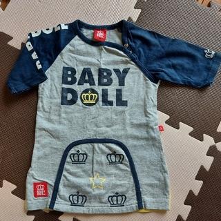 ベビードール(BABYDOLL)のベビードール 90㎝ Tシャツ 5分袖 7分袖(Tシャツ/カットソー)