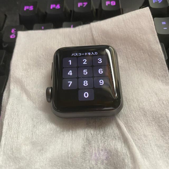 Apple Watch(アップルウォッチ)のApple watch series3 38mm メンズの時計(腕時計(デジタル))の商品写真