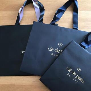 クレドポーボーテ(クレ・ド・ポー ボーテ)のクレ・ド・ポー ボーテ シナクティフ 紙袋 3枚(ショップ袋)