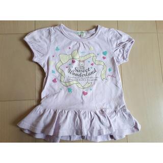 サンカンシオン(3can4on)のTシャツ 100 3can4on サンカンシオン チュニック 女の子(Tシャツ/カットソー)