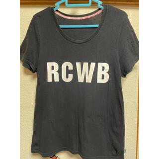 ロデオクラウンズ(RODEO CROWNS)のロデオ❤︎ロゴTシャツ(Tシャツ(半袖/袖なし))