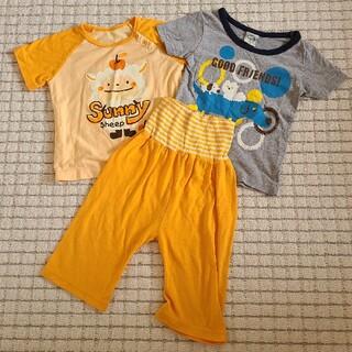 95 腹巻きパジャマ半袖 Tシャツ セット(パジャマ)