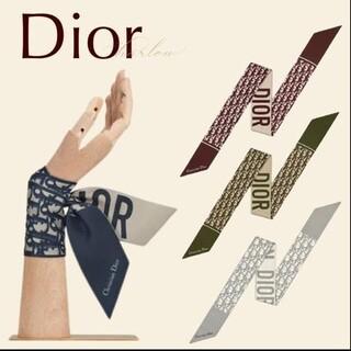 クリスチャンディオール(Christian Dior)のChristian Dior Dior スカーフ ミッツァ シルク オブリーク (バンダナ/スカーフ)