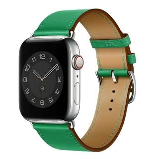Apple Watch レザーバンド 38/40mm グリーン