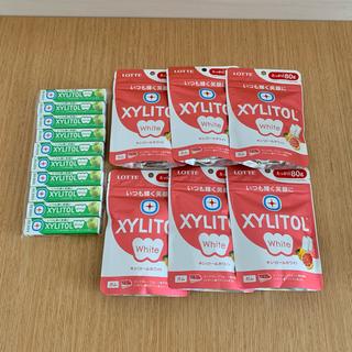 キシリトールホワイト 6袋 10個セット(菓子/デザート)