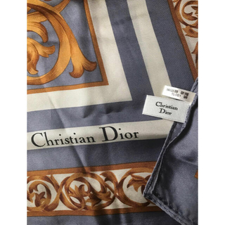 クリスチャンディオール(Christian Dior)のChristian Dior スカーフ(バンダナ/スカーフ)