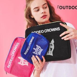 ロデオクラウンズワイドボウル(RODEO CROWNS WIDE BOWL)の♡ロデオ♡ノベルティ ポーチ3点セット!!!!(ポーチ)
