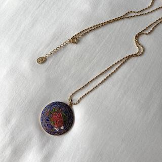 サンタモニカ(Santa Monica)の୨୧ Vintage rétro rose pendant necklace(ネックレス)