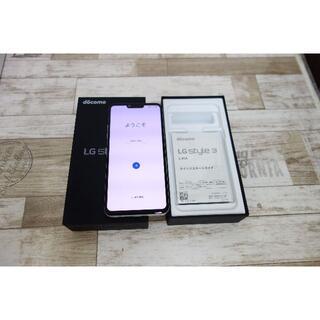 LG Electronics - 未使用に近い docomo LG style3 L-41A SIMロック解除済